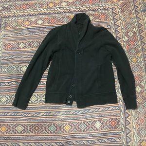 Mackage black cardigan size large